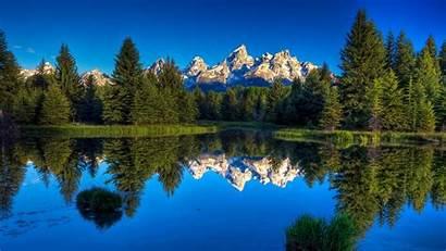 Lake Mountain Desktop Wallpapers Nature Wallpapersafari