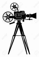 Cinema Camera Vector Film Clipart Filmkamera Kino Shutterstock Kamera Depositphotos Produzioni Mc Fla Grafiken Lizenzfreie sketch template