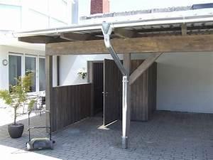 Carport Dach Holz : carport mit trapezblechdach zhg holz dach ~ Sanjose-hotels-ca.com Haus und Dekorationen