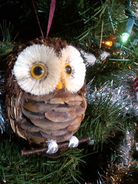pine cone owl ornaments 122 best images about pinecone creations on pinterest trees pine and ornaments