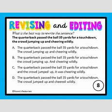 Free Revising And Editing Task Cards By Rose Kasper's Resources Tpt
