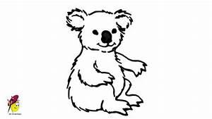 Image Gallery koala drawing