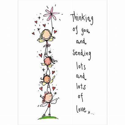 Thinking Lots Cards Sending Birthday Card Loving