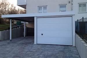 Garage Carport Kombination : garage aus stahl myport ~ Orissabook.com Haus und Dekorationen