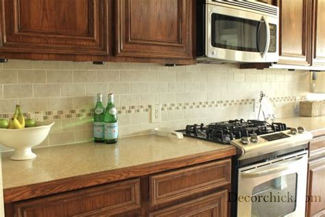 how to redo kitchen cabinets fabulous kitchen backsplash before and after using the 7324