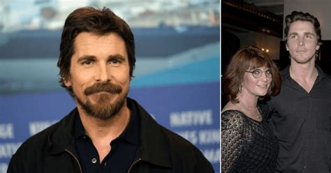 Christian Bale Makes With His Mother Years After