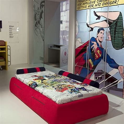 cool bedroom ideas with graffiti theme