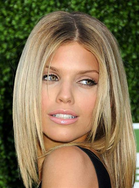 cute medium length hairstyles  thin hair