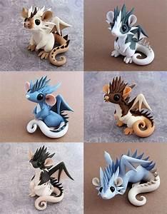 Modelliermasse Lufttrocknend Ideen : dragon rats by dragonsandbeasties on deviantart ~ Orissabook.com Haus und Dekorationen