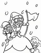 Coloring Pages Mountaineers Waffle Smash Waffles Chicken sketch template
