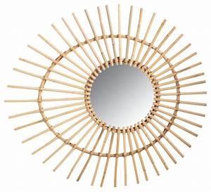 Miroir En Rotin : miroir en rotin oeuf ~ Nature-et-papiers.com Idées de Décoration