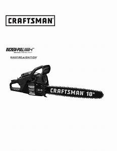 Craftsman Chainsaw 316350840 User Guide