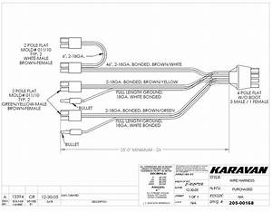 4 Flat Wire Harnes Diagram