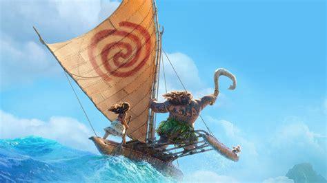aw surf moana disney film anime summer sea illustration art wallpaper