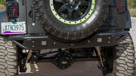 jeep jk venom rear bumper add offroad