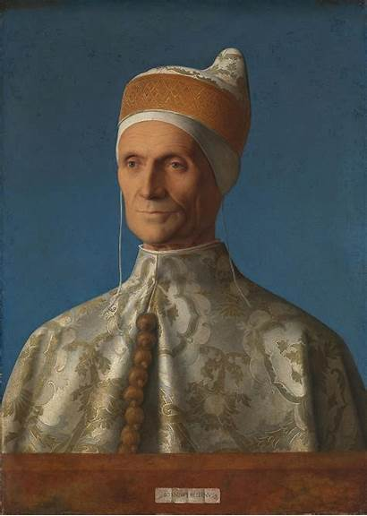 Doge Leonardo Portrait Loredan Bellini Giovanni Wikipedia