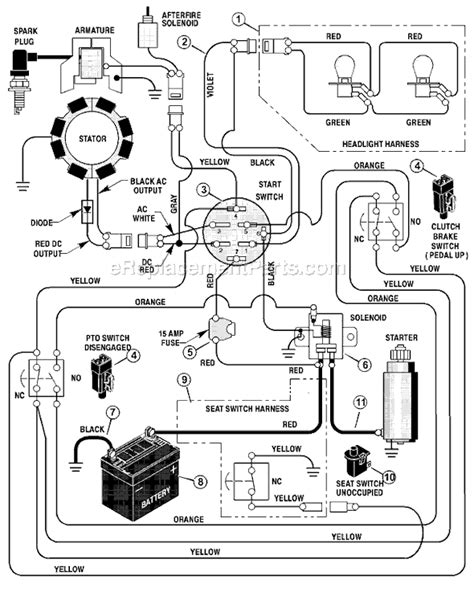 Mtd Lawn Mower Wiring Diagram Electrical