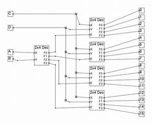 How To Make 4x16 Decoder Using 2x4