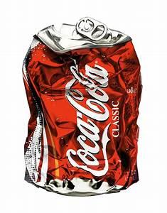 Crushed Coke Can   cool   Pinterest   Coke cans