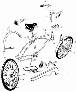 Huffy Bicycle Parts