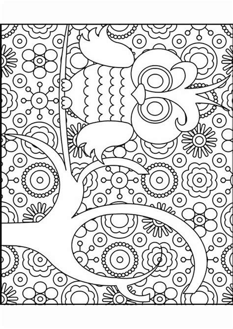 Kleurplaten Voor Volwassenen Verjaardag by Kleurplaat Volwassenen Uil Winter Templates