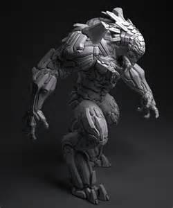 Sci-Fi Robot Beast