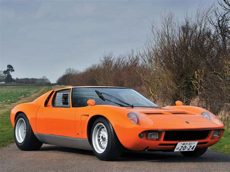 Very Rare Lamborghini Miura Svj Replica For Sale1969