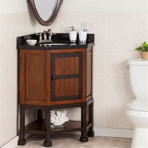 wildon home errigal  single corner bath vanity set