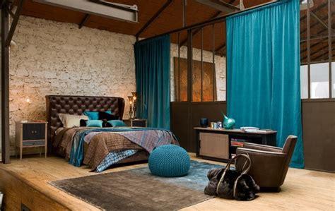 chambre style loft déco chambre loft