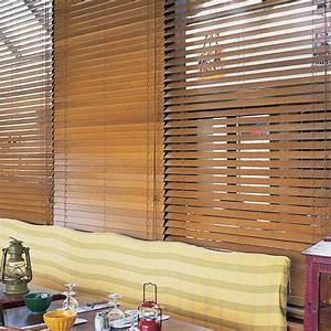 Store Venitien Bois : le store v nitien bois sur mesure ~ Melissatoandfro.com Idées de Décoration