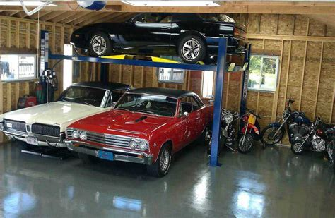 car lift for garage auto lift garage plans myideasbedroom