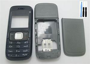 Full Body Housing Cover And Keypad For Nokia 1209 Housing