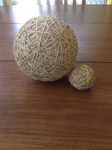 rubber band ball  ways guide patterns