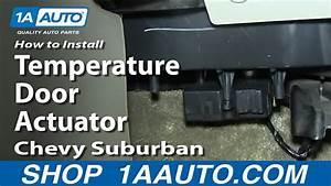 How To Replace Door Actuator 00