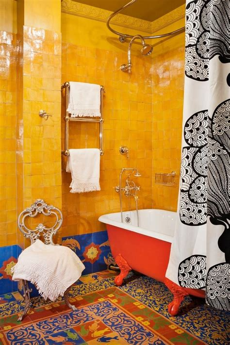 captivating bohemian bathroom designs rilane