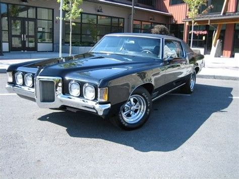 Sell Used 1970 Pontiac Grand Prix Model J In Seattle