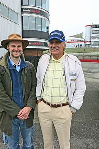 Alan Fowler with his son Justin. | Racing Times