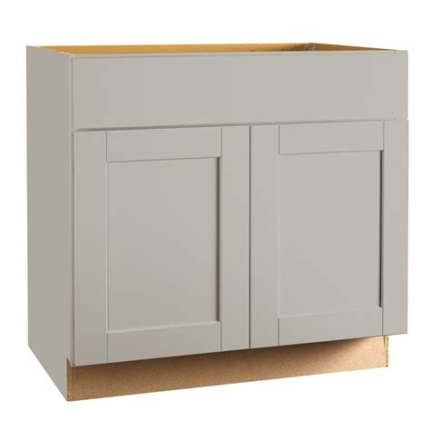 painters for kitchen cabinets hton bay shaker assembled 36 x 34 5 x 21 in base bath 4007
