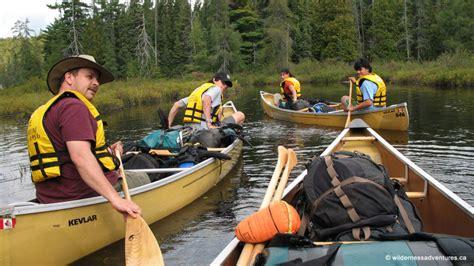 canoe wildernessadventures ontario rentals kayak
