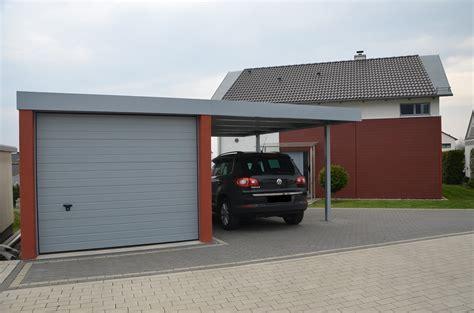 Garagen Esb  Carport Mit Garage