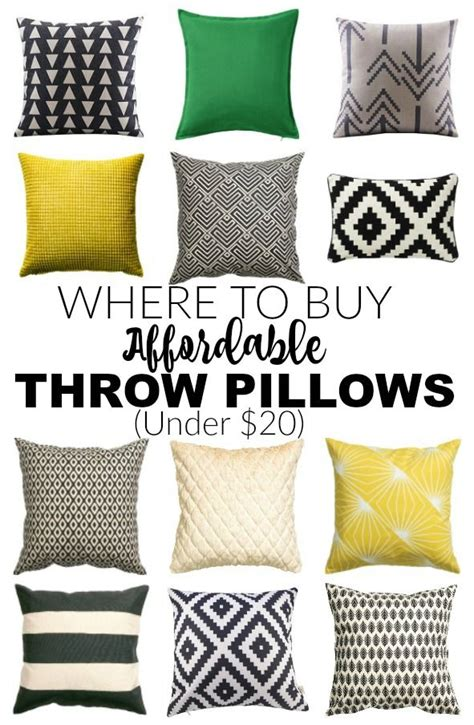 Where To Buy Pillows by Where To Buy Cheap Throw Pillows 20