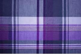 Purple and Blue Plaid ...