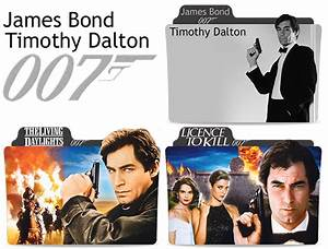 James Bond movies Timothy Dalton Folder Icon by Engelyna ...