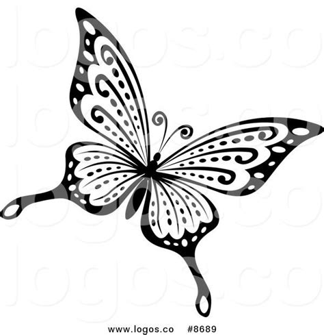 black  white butterfly tattoo art images