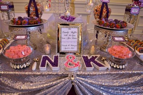 loews portofino bay hotel a dazzling purple wedding a