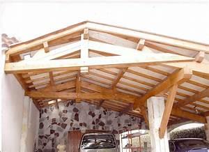 Abri Voiture En Bois : abris voiture en bois aix en provence la ciotat brignoles ~ Nature-et-papiers.com Idées de Décoration
