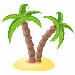 Palm tree Icon | Summer Holiday Iconset | DaPino