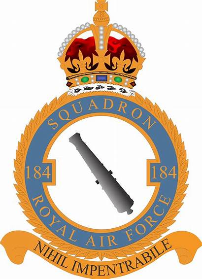 Squadron Crest 184 Raf Commons Wikimedia Wikipedia