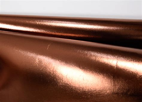 Ital. Taschenleder Copper Kupfer-metallic 1,0-1,2 Mm