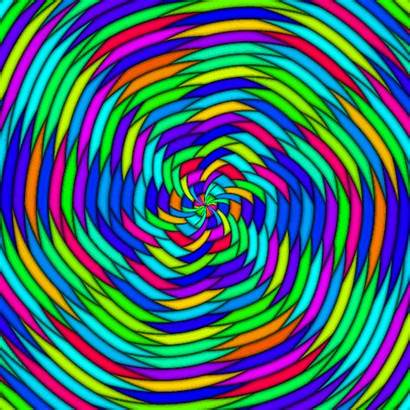 Zoom Colorful Psychedelic Spiral Gifs Psyklon Giphy